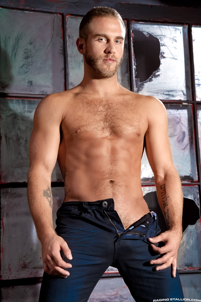 Hairy chest bearded muscle hunk Shawn Wolfe 001 porn pics - Hairy chested muscle hunk Shawn Wolfe