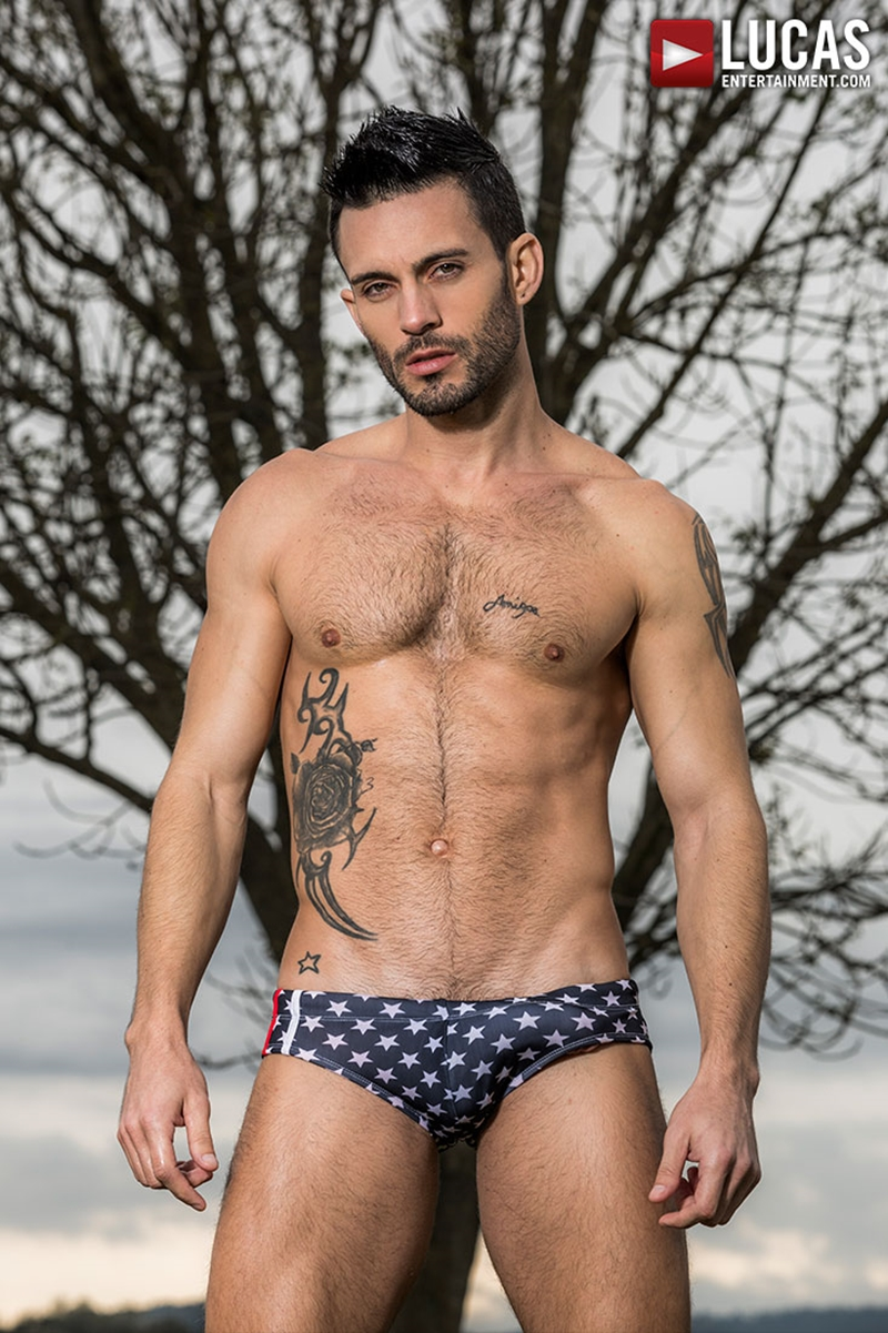 Andy Star gay porn star hot Brazilian muscle stud stripped down sexy swimwear 015 porn solo gay photo - Hot Brazilian muscle stud Andy Star stripped down to his sexy swimwear