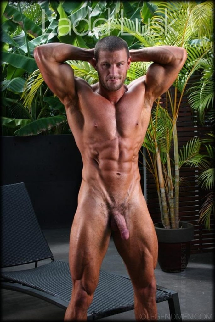 Gorgeous shaved headed muscle dude Ladd Lusk 003 gay porn pics 683x1024 - Gorgeous shaved-headed muscle dude Ladd Lusk