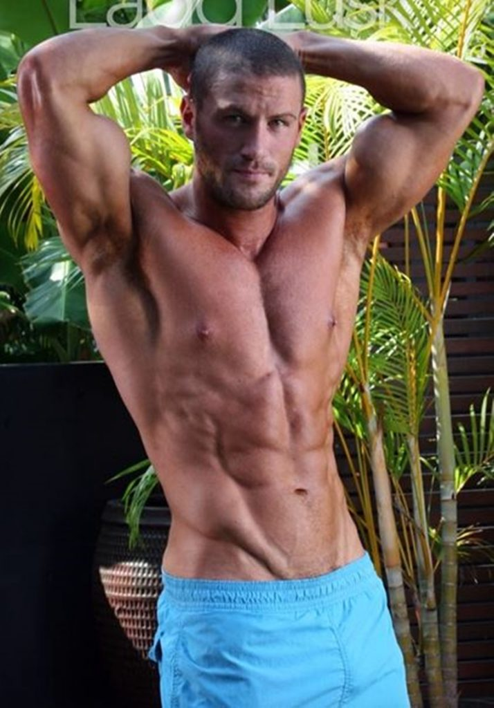 Gorgeous shaved headed muscle dude Ladd Lusk 009 gay porn pics 714x1024 - Gorgeous shaved-headed muscle dude Ladd Lusk