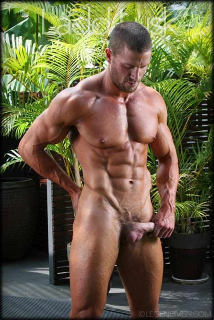 Gorgeous shaved headed muscle dude Ladd Lusk 011 gay porn pics 683x1024 - Gorgeous shaved-headed muscle dude Ladd Lusk