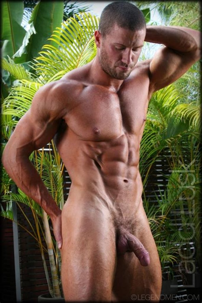 Gorgeous shaved headed muscle dude Ladd Lusk 017 gay porn pics 683x1024 - Gorgeous shaved-headed muscle dude Ladd Lusk