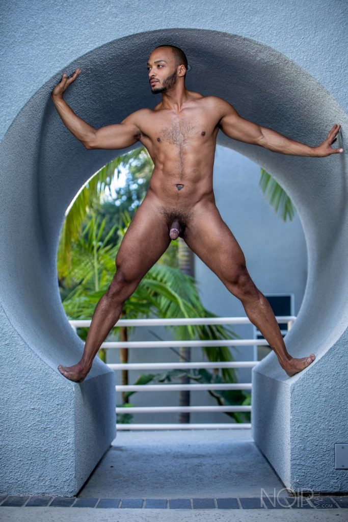 Hot sexy black muscle dude Dillon Diaz 014 gay porn pics 683x1024 - Hot sexy black muscle dude Dillon Diaz