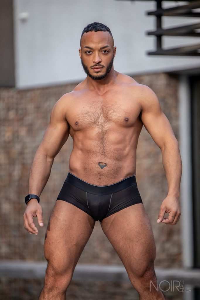 Hot sexy black muscle dude Dillon Diaz 018 gay porn pics 683x1024 - Hot sexy black muscle dude Dillon Diaz