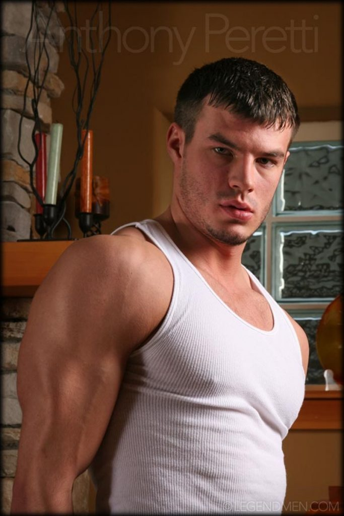 Ripped muscle stud Anthony Peretti stripped bare 009 gay porn pics 683x1024 - Ripped muscle stud Anthony Peretti stripped bare