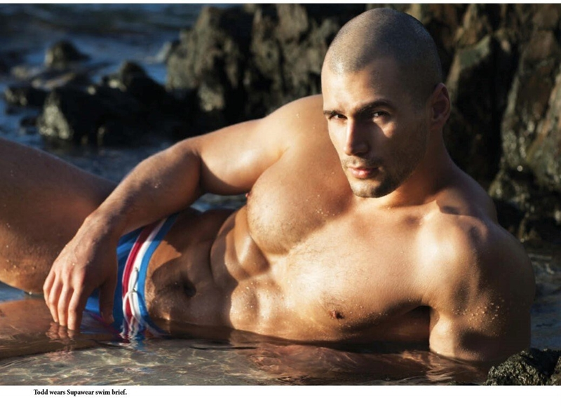Todd Sanfield sexiest underwear models world 018 porn solo gay photo - Todd Sanfield remains one of the sexiest underwear models in the world