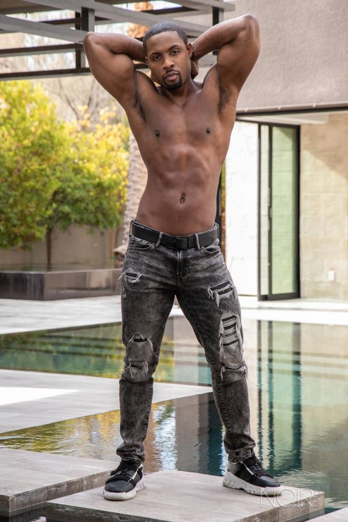 Beautiful black stud DeAngelo Jackson shows off sexy naked muscled body 009 gay porn pics 683x1024 - Beautiful black stud DeAngelo Jackson shows off his sexy naked muscled body