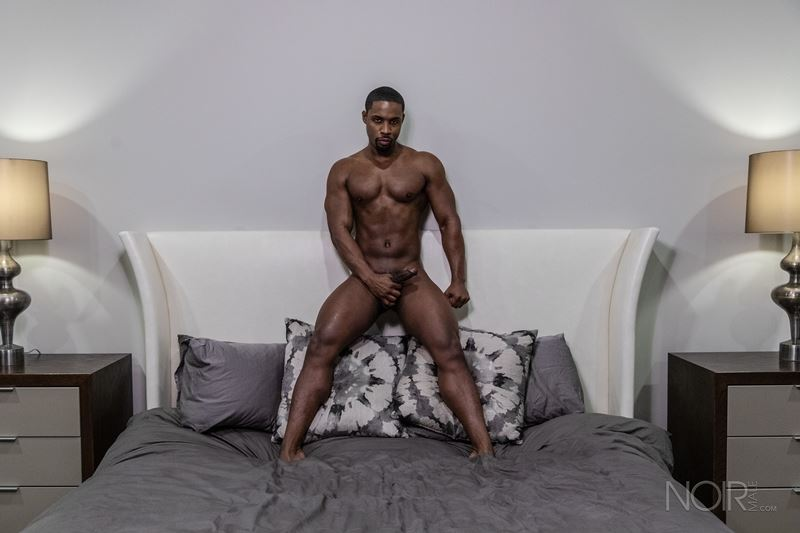 Beautiful black stud DeAngelo Jackson shows off sexy naked muscled body 025 gay porn pics - Beautiful black stud DeAngelo Jackson shows off his sexy naked muscled body