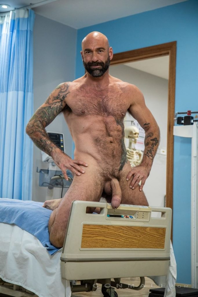 Big hairy muscle hunk Drew Sebastian shows off huge Prince Albert cock piercing 002 gay porn pics 683x1024 - Big hairy muscle hunk Drew Sebastian shows off his huge Prince Albert cock piercing