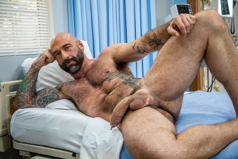 Big hairy muscle hunk Drew Sebastian shows off huge Prince Albert cock piercing 013 gay porn pics - Big hairy muscle hunk Drew Sebastian shows off his huge Prince Albert cock piercing