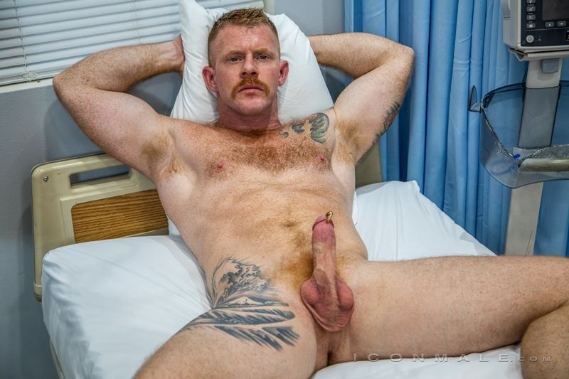 Big muscle bear Jack Vidra whips out his huge Prince Albert cock 006 gay porn pics - Big muscle bear Jack Vidra whips out his huge Prince Albert cock