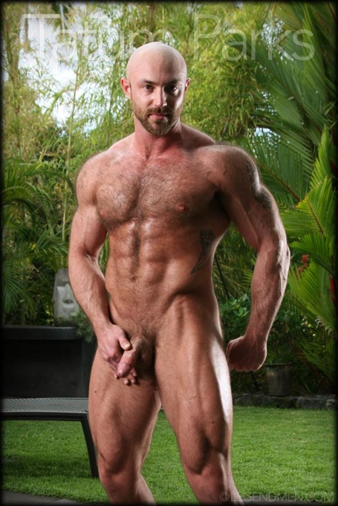 Hot muscle hairy hunk Tatum Parks strips jerks big fat dick cameras Legend Men Chaos Men 007 gay porn pics 683x1024 - Hot muscle hairy hunk Tatum Parks strips and jerk his big fat dick for the cameras