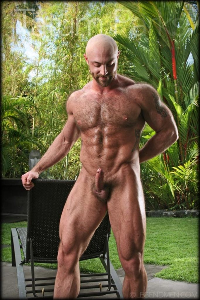 Hot muscle hairy hunk Tatum Parks strips jerks big fat dick cameras Legend Men Chaos Men 010 gay porn pics 683x1024 - Hot muscle hairy hunk Tatum Parks strips and jerk his big fat dick for the cameras