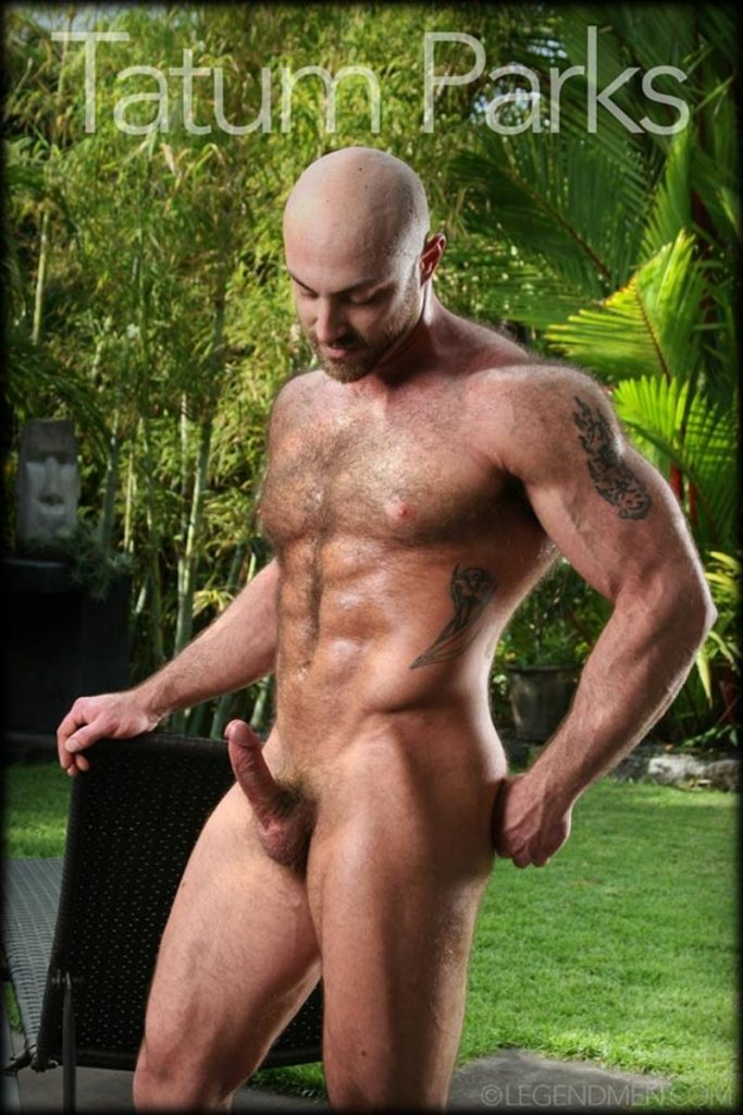 Hot muscle hairy hunk Tatum Parks strips jerks big fat dick cameras Legend Men Chaos Men 012 gay porn pics 683x1024 - Hot muscle hairy hunk Tatum Parks strips and jerk his big fat dick for the cameras