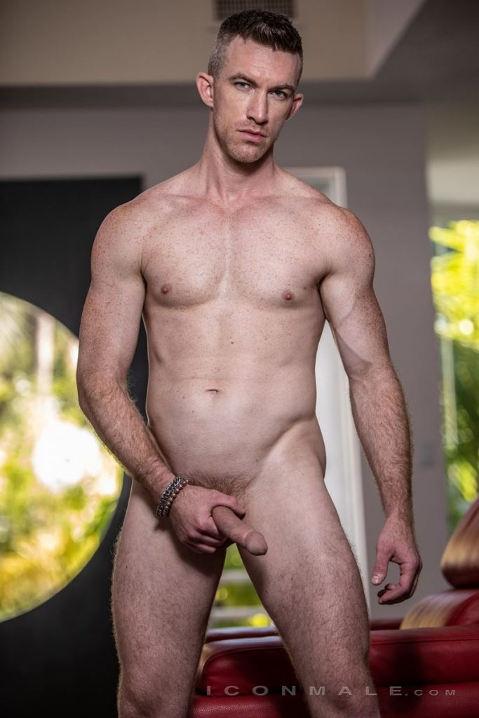Hot young American porn star Nick Fitt shows off freckled muscle bod 001 gay porn pics 683x1024 - Hot young American porn star Nick Fitt shows off his freckled muscle bod