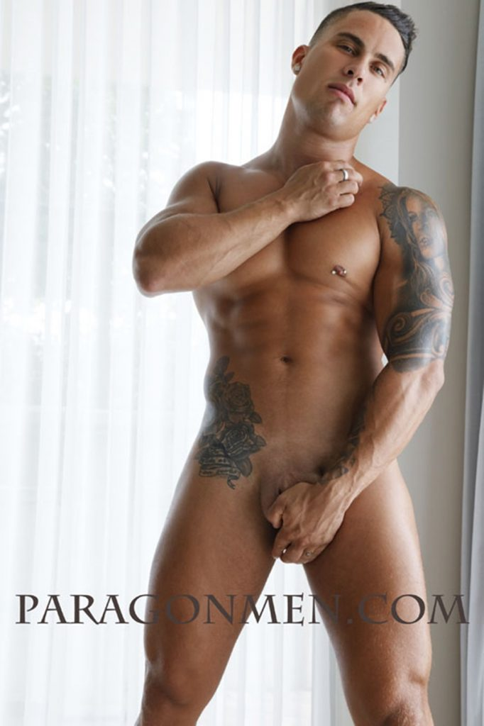 Sexy ripped tattooed muscle stud Paragon Men Eric naked photoshoot 008 gay porn pics 682x1024 - Sexy ripped tattooed muscle stud Paragon Men Eric naked photoshoot