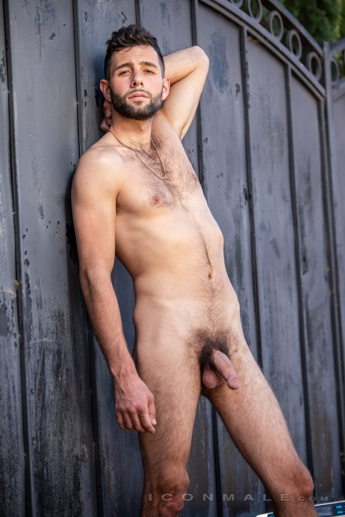 Young bearded hottie hair chest Argos Santini new gay porn star chaos men icon male 002 gay porn pics 683x1024 - Young bearded hottie Argos Santini is new to gay porn but he's rising fast