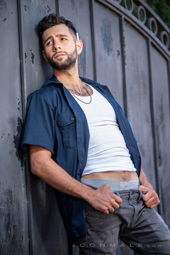 Young bearded hottie hair chest Argos Santini new gay porn star chaos men icon male 005 gay porn pics 683x1024 - Young bearded hottie Argos Santini is new to gay porn but he's rising fast