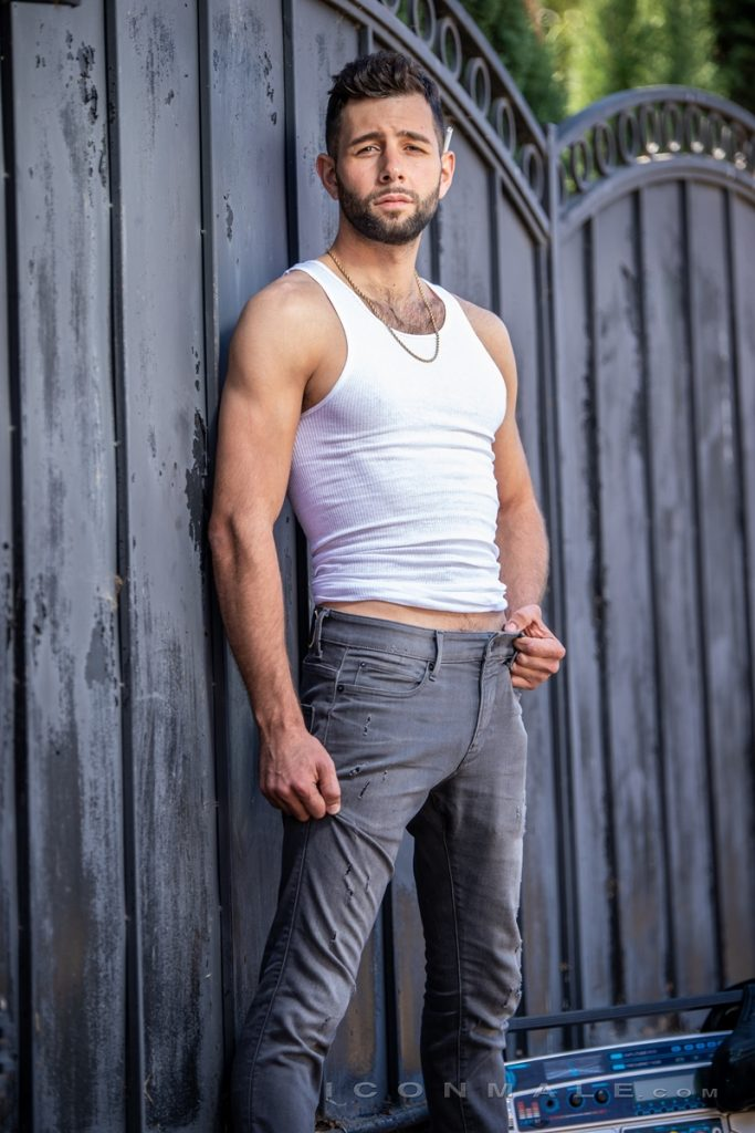Young bearded hottie hair chest Argos Santini new gay porn star chaos men icon male 006 gay porn pics 683x1024 - Young bearded hottie Argos Santini is new to gay porn but he's rising fast