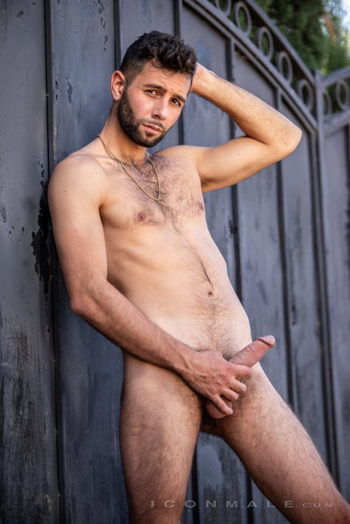 Young bearded hottie hair chest Argos Santini new gay porn star chaos men icon male 008 gay porn pics 683x1024 - Young bearded hottie Argos Santini is new to gay porn but he's rising fast