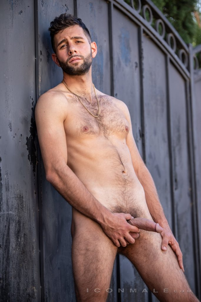 Young bearded hottie hair chest Argos Santini new gay porn star chaos men icon male 009 gay porn pics 683x1024 - Young bearded hottie Argos Santini is new to gay porn but he's rising fast