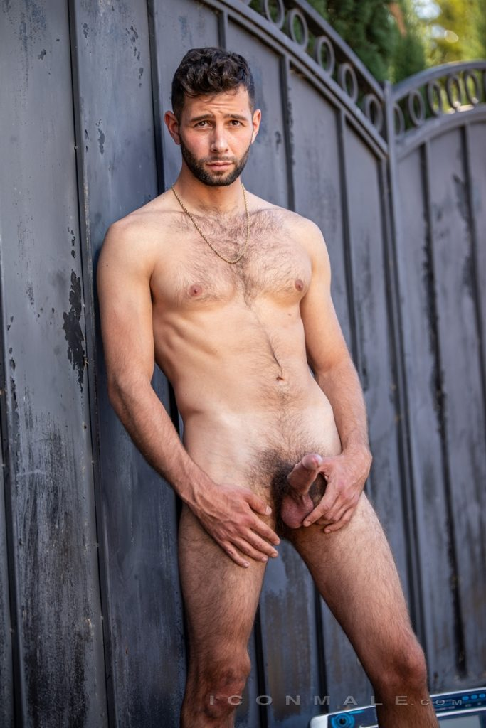 Young bearded hottie hair chest Argos Santini new gay porn star chaos men icon male 010 gay porn pics 683x1024 - Young bearded hottie Argos Santini is new to gay porn but he's rising fast