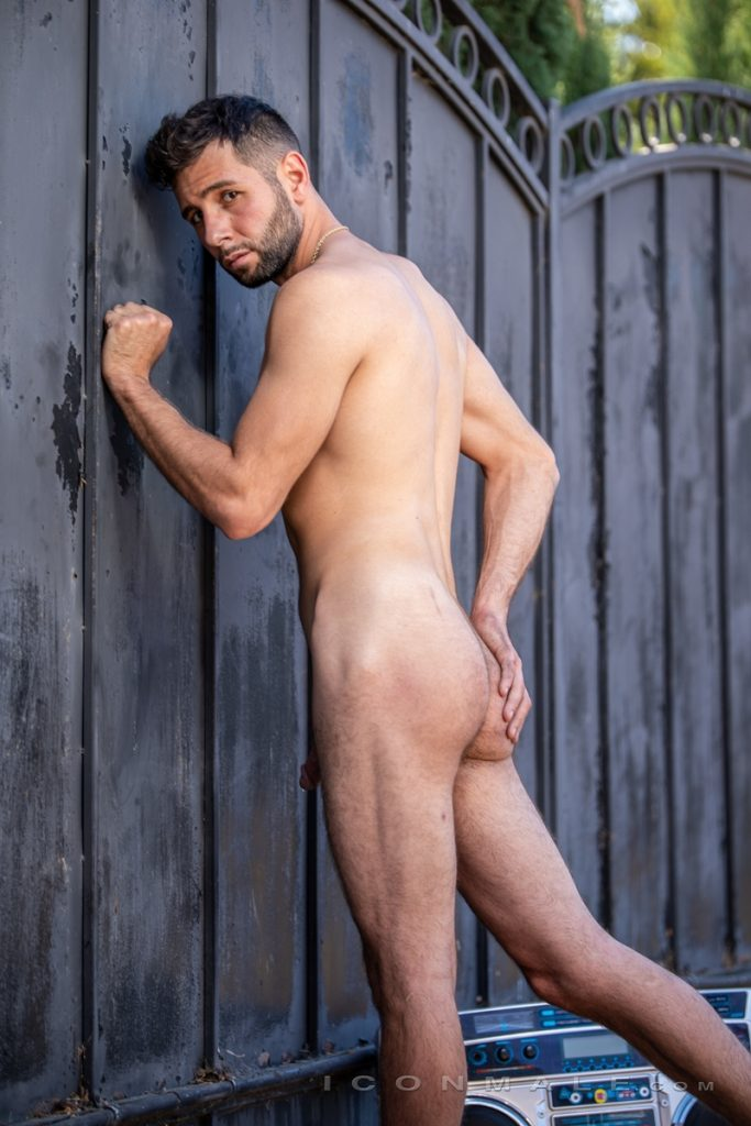Young bearded hottie hair chest Argos Santini new gay porn star chaos men icon male 012 gay porn pics 683x1024 - Young bearded hottie Argos Santini is new to gay porn but he's rising fast