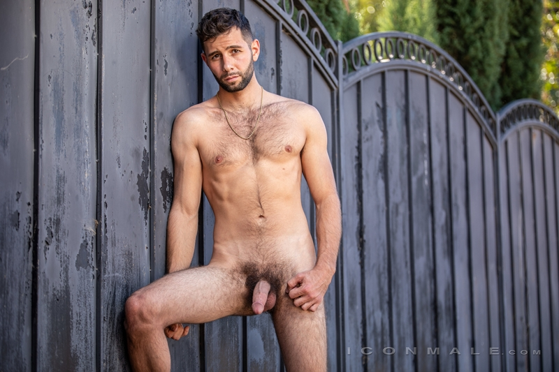 Young bearded hottie hair chest Argos Santini new gay porn star chaos men icon male 018 gay porn pics - Young bearded hottie Argos Santini is new to gay porn but he's rising fast