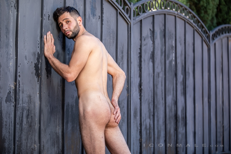 Young bearded hottie hair chest Argos Santini new gay porn star chaos men icon male 022 gay porn pics - Young bearded hottie Argos Santini is new to gay porn but he's rising fast