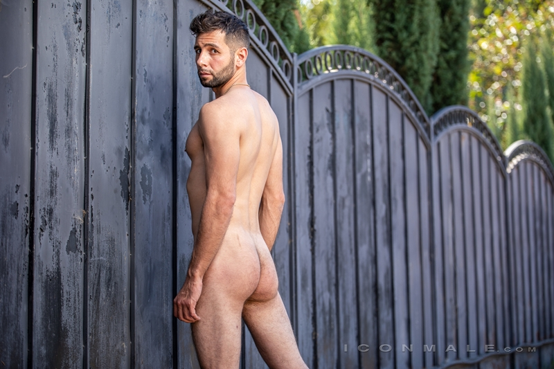 Young bearded hottie hair chest Argos Santini new gay porn star chaos men icon male 023 gay porn pics - Young bearded hottie Argos Santini is new to gay porn but he's rising fast