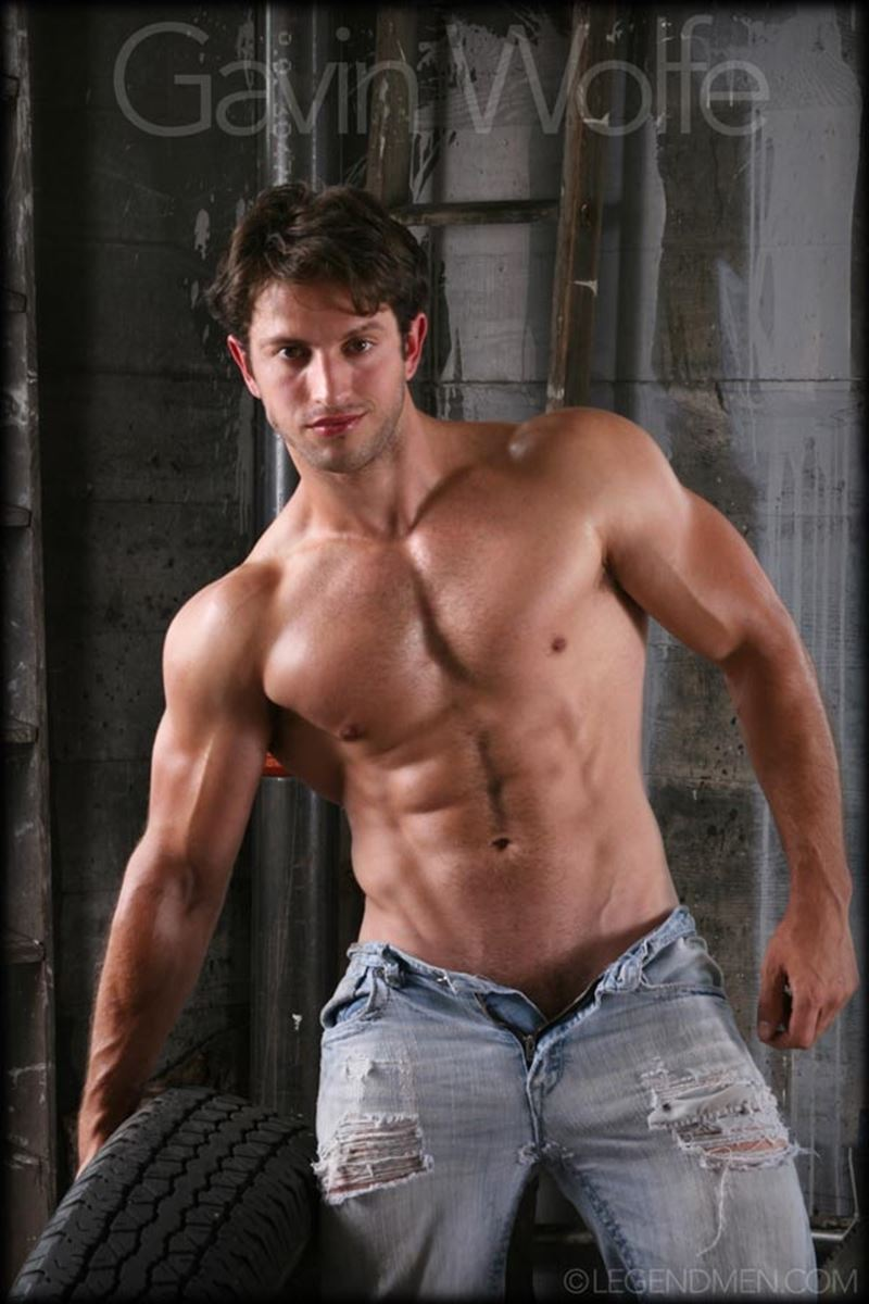 Young hottie muscle porn guy Gavin Wolfe nude photoshoot Legend Men 001 gay porn pics - Young hottie muscle porn guy Gavin Wolfe nude photoshoot