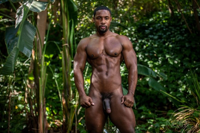 Hot ripped black muscle dude DeAngelo Jackson strips naked jerking huge cock 006 gay porn pics - Hot ripped black muscle dude DeAngelo Jackson strips naked jerking his huge cock