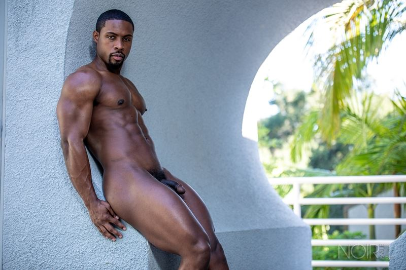 Hot ripped black muscle dude DeAngelo Jackson strips naked jerking huge cock 023 gay porn pics - Hot ripped black muscle dude DeAngelo Jackson strips naked jerking his huge cock