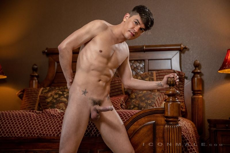 Sexy young stud Andy Taylor strips naked tight sexy undies big dick 016 gay porn pics - Sexy young stud Andy Taylor strips out of his tight sexy undies showing his big dick