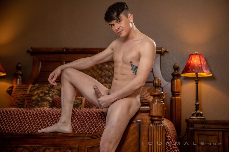 Sexy young stud Andy Taylor strips naked tight sexy undies big dick 017 gay porn pics - Sexy young stud Andy Taylor strips out of his tight sexy undies showing his big dick