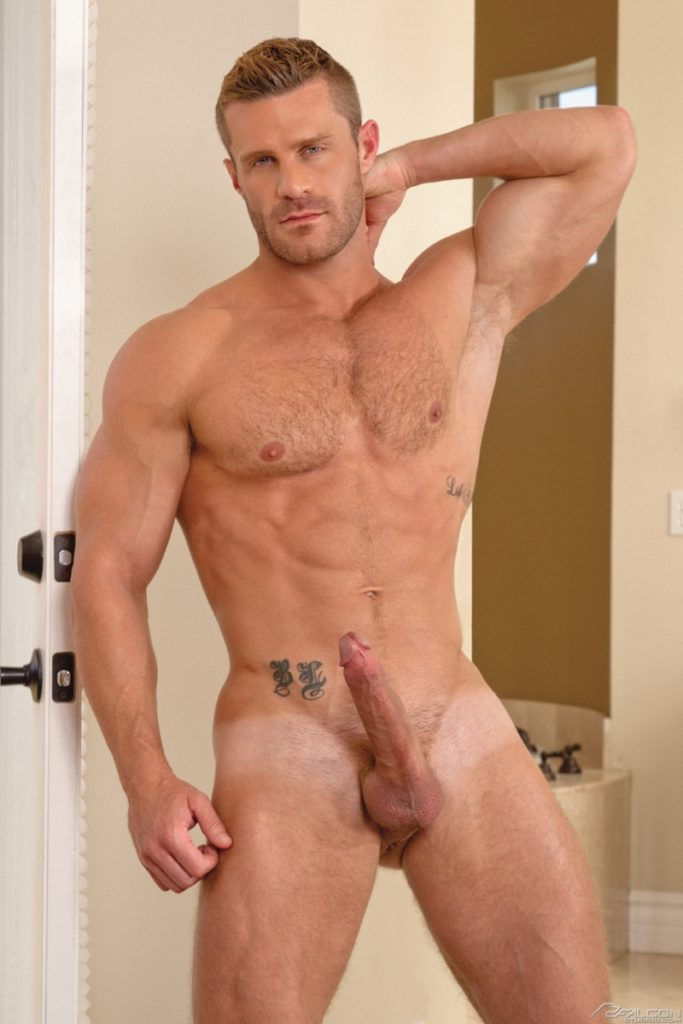 Blue eyed sexy hairy chested hunk Landon Conrad exposes huge thick 8 inch dick 005 gay porn pics 683x1024 - Blue-eyed sexy hairy chested hunk Landon Conrad exposes his huge thick 8 inch dick