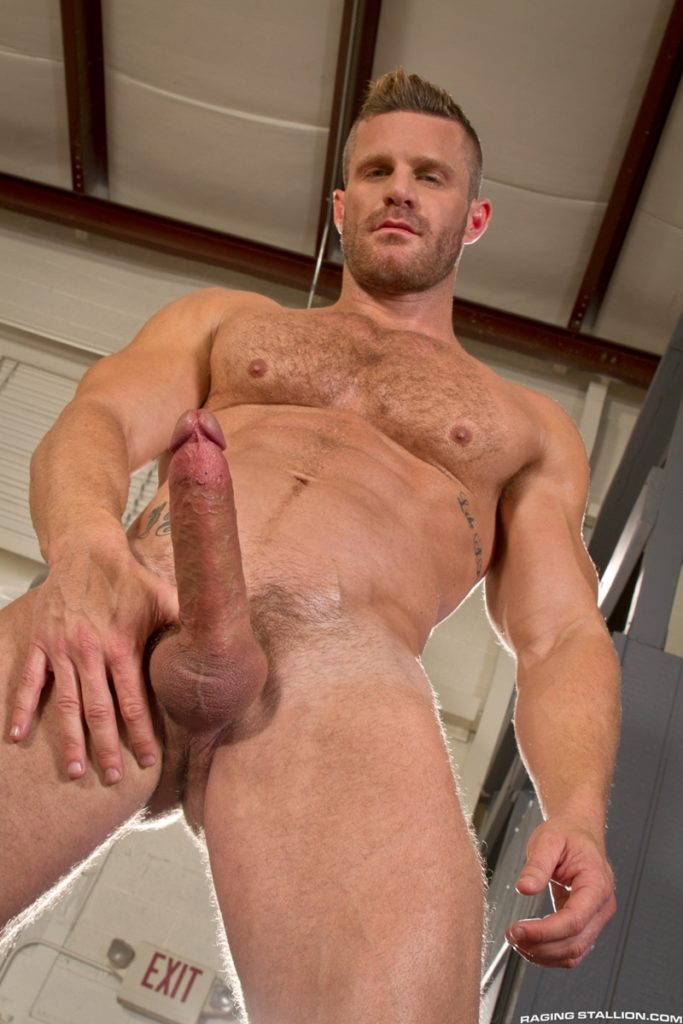 Blue eyed sexy hairy chested hunk Landon Conrad exposes huge thick 8 inch dick 011 gay porn pics 683x1024 - Blue-eyed sexy hairy chested hunk Landon Conrad exposes his huge thick 8 inch dick