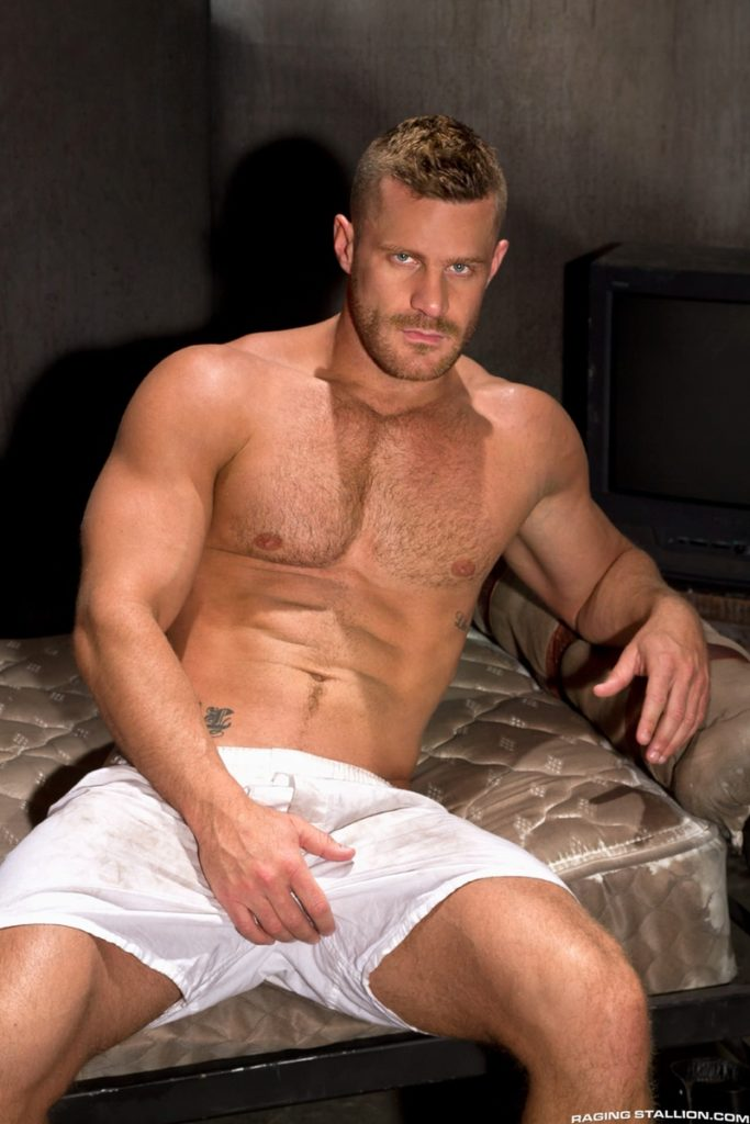 Blue eyed sexy hairy chested hunk Landon Conrad exposes huge thick 8 inch dick 018 gay porn pics 683x1024 - Blue-eyed sexy hairy chested hunk Landon Conrad exposes his huge thick 8 inch dick
