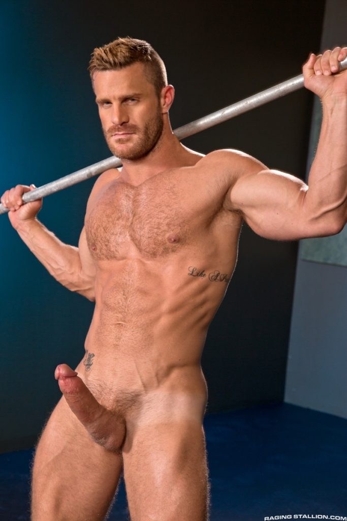 Blue eyed sexy hairy chested hunk Landon Conrad exposes huge thick 8 inch dick 027 gay porn pics 683x1024 - Blue-eyed sexy hairy chested hunk Landon Conrad exposes his huge thick 8 inch dick