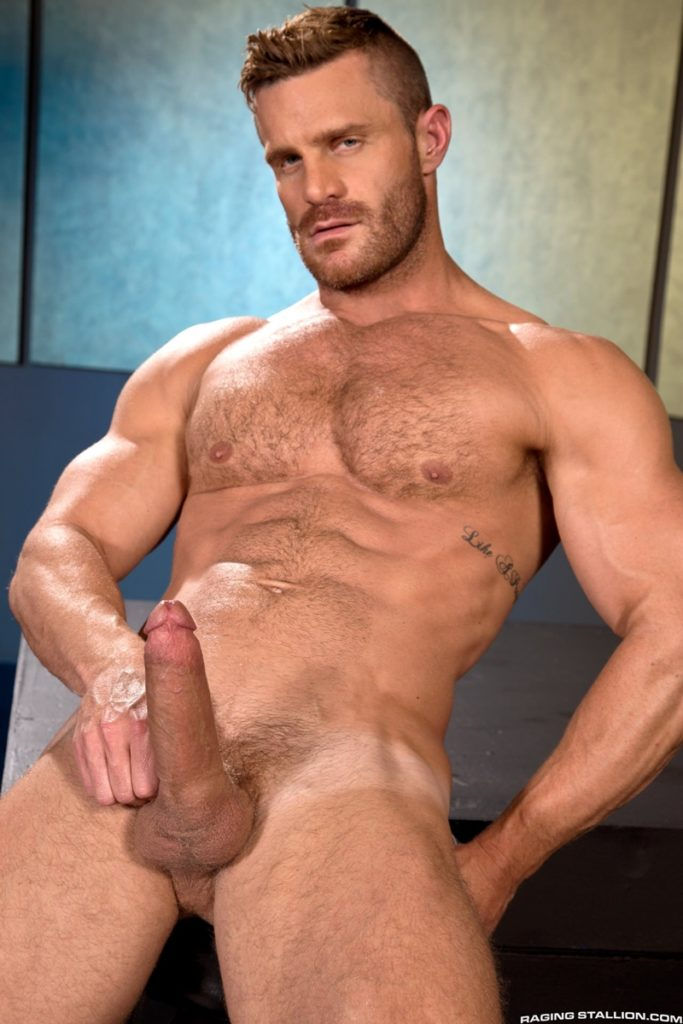 Blue eyed sexy hairy chested hunk Landon Conrad exposes huge thick 8 inch dick 028 gay porn pics 683x1024 - Blue-eyed sexy hairy chested hunk Landon Conrad exposes his huge thick 8 inch dick