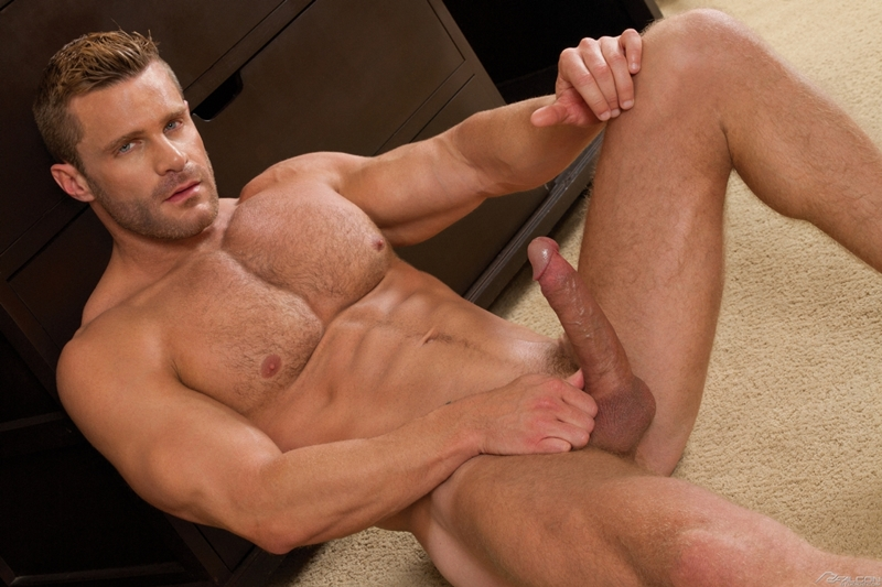 Blue eyed sexy hairy chested hunk Landon Conrad exposes huge thick 8 inch dick 031 gay porn pics - Blue-eyed sexy hairy chested hunk Landon Conrad exposes his huge thick 8 inch dick