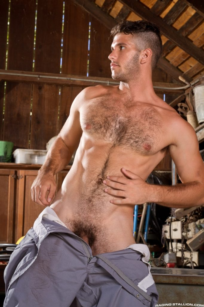 Hot muscle dude Jimmy Fanz stripped bare exposing big dick hairy chest butt hole youlovenudedudes 019 gay porn pics 683x1024 - Hot muscle dude Jimmy Fanz stripped bare exposing his hairy butt
