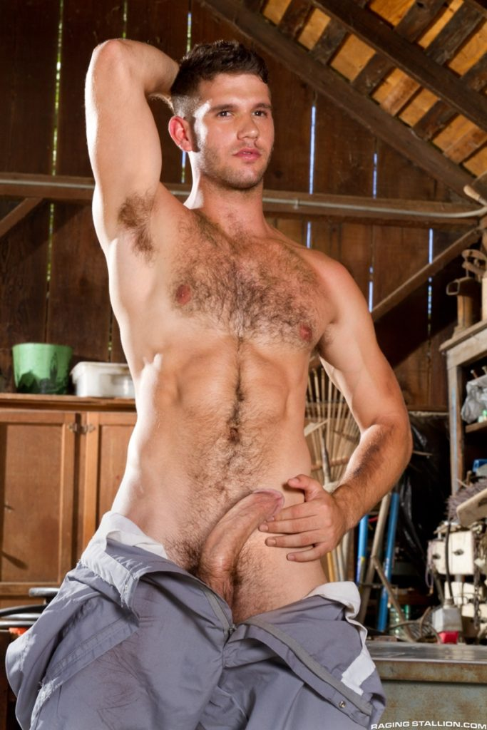 Hot muscle dude Jimmy Fanz stripped bare exposing big dick hairy chest butt hole youlovenudedudes 020 gay porn pics 683x1024 - Hot muscle dude Jimmy Fanz stripped bare exposing his hairy butt