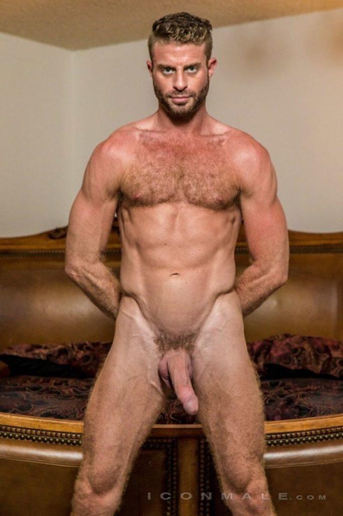 Hung hairy muscle stud Link Parker aka Sean Cody Tobey naked gay porn star 001 gay porn pics 682x1024 - Hung hairy muscle stud Link Parker (aka Sean Cody Tobey) exposes his sexy body and huge cock
