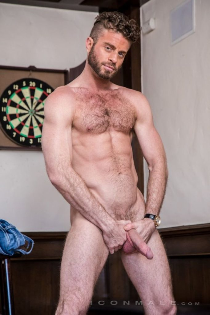 Hung hairy muscle stud Link Parker aka Sean Cody Tobey naked gay porn star 012 gay porn pics 682x1024 - Hung hairy muscle stud Link Parker (aka Sean Cody Tobey) exposes his sexy body and huge cock