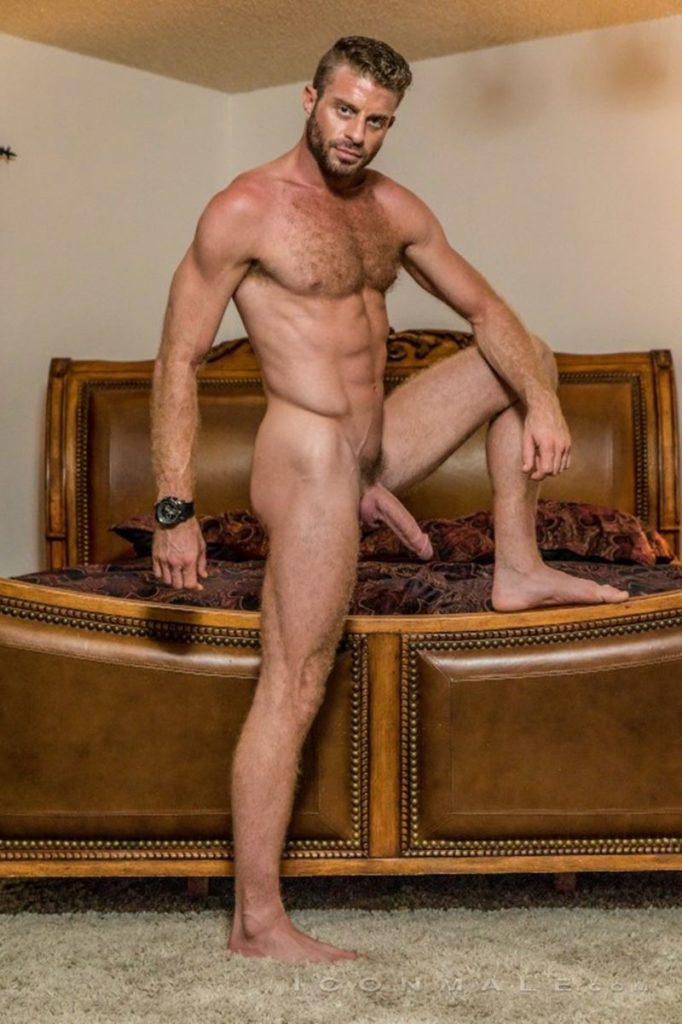 Hung hairy muscle stud Link Parker aka Sean Cody Tobey naked gay porn star 015 gay porn pics 682x1024 - Hung hairy muscle stud Link Parker (aka Sean Cody Tobey) exposes his sexy body and huge cock