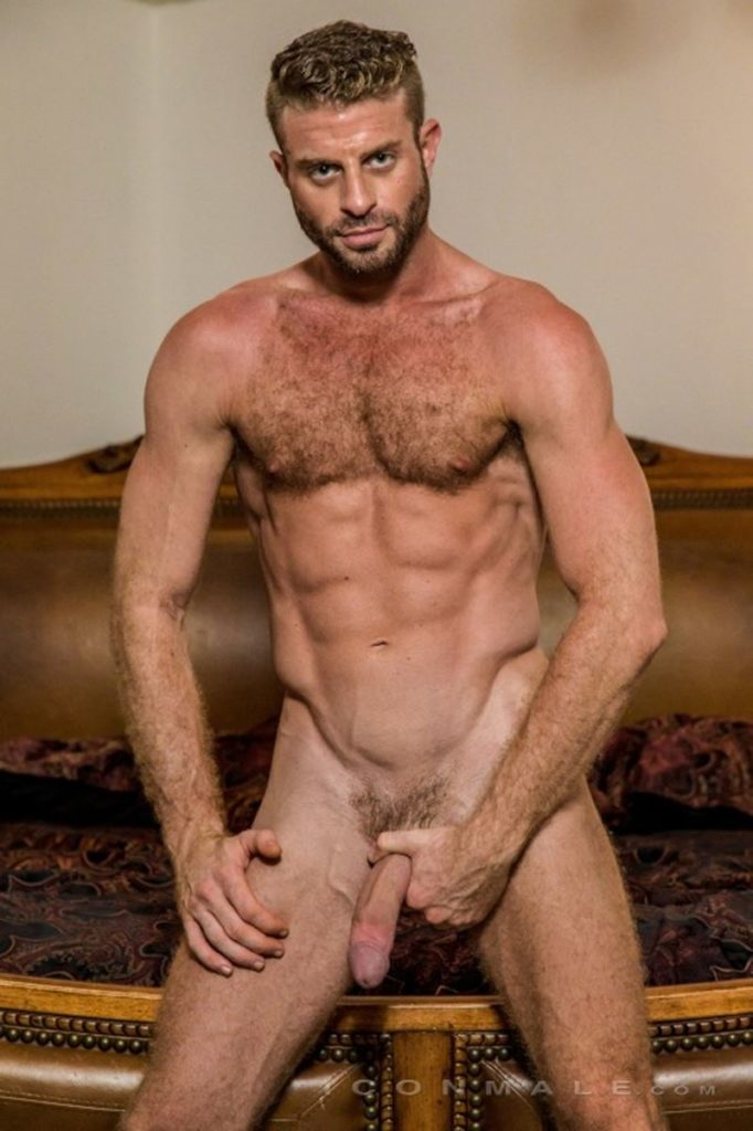 Hung hairy muscle stud Link Parker aka Sean Cody Tobey naked gay porn star 016 gay porn pics 682x1024 - Hung hairy muscle stud Link Parker (aka Sean Cody Tobey) exposes his sexy body and huge cock
