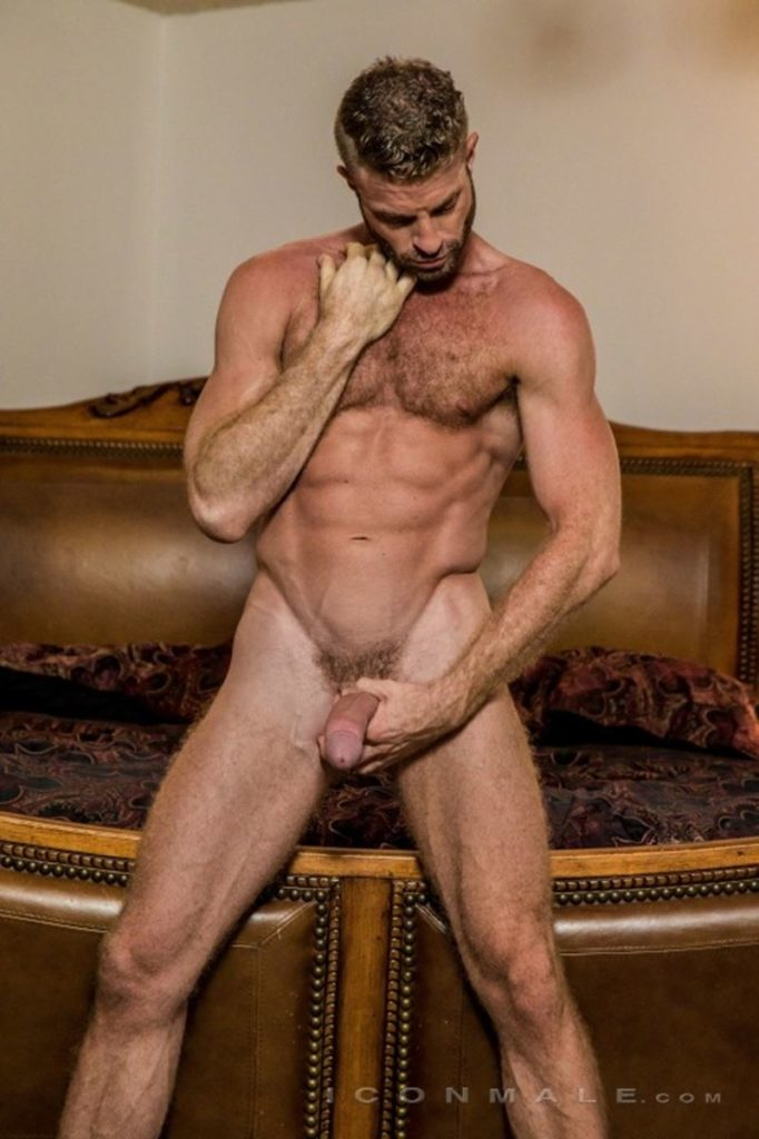 Hung hairy muscle stud Link Parker aka Sean Cody Tobey naked gay porn star 017 gay porn pics 682x1024 - Hung hairy muscle stud Link Parker (aka Sean Cody Tobey) exposes his sexy body and huge cock