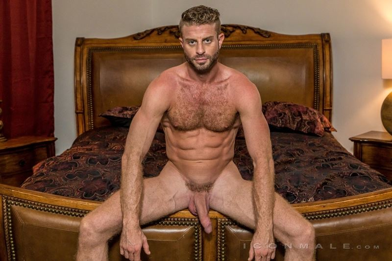 Hung hairy muscle stud Link Parker aka Sean Cody Tobey naked gay porn star 018 gay porn pics - Hung hairy muscle stud Link Parker (aka Sean Cody Tobey) exposes his sexy body and huge cock