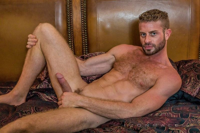 Hung hairy muscle stud Link Parker aka Sean Cody Tobey naked gay porn star 021 gay porn pics - Hung hairy muscle stud Link Parker (aka Sean Cody Tobey) exposes his sexy body and huge cock